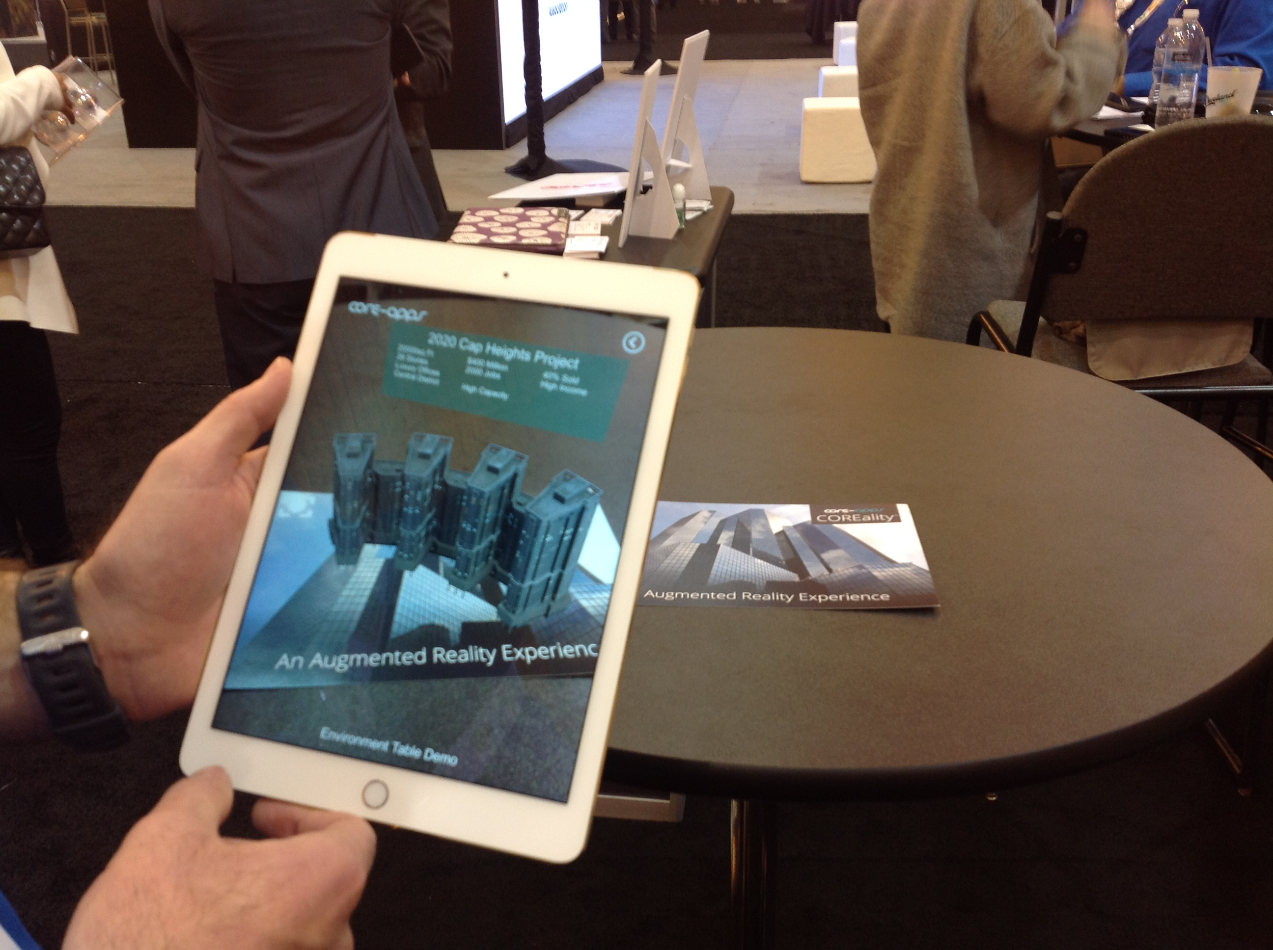 Core-apps Launches COREality™ an Augmented Reality Offering